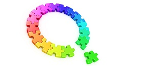 Missing piece -puzzle